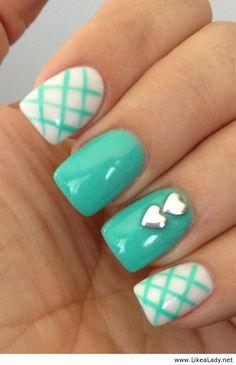 Beautiful nail polish color