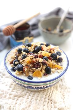 Made with nuts, dried and fresh fruit, almond milk and rolled oats, you will quickly discover why this is the best ever bircher muesli! The easiest breakfast you'll ever make.