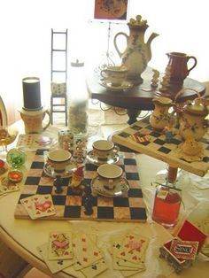 mad hatter tea party johnny depp - Google Search