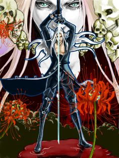 Sephiroth-From Final Fantasy VII & its many incarnations
