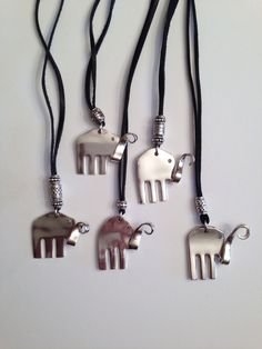 Elephant pendants going to Lucy the Elephant in Margate New Jersey gift shop!
