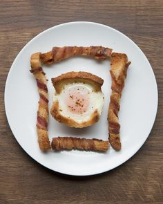 Ranajky - Egg Cup and Bacon Soldier