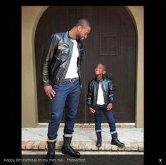 Father and son Dwayne Wade Black Dad, Black Fathers, Fathers Love, Black Love, Dad N Me, Daddy And Son, Dad Son, Daughter, Nba Fashion