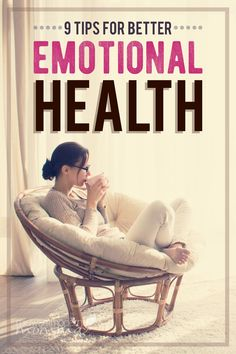 9 Tips For Better Emotional Health ~ As moms, we tend to focus on making sure everyone else and everything else is taken care of, but we neglect ourselves! Here are 9 realistic ways to better your emotional health.