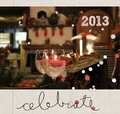 A New Year's vignette I made using Paislee Press digistuff:)