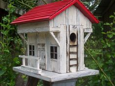 Country Birdhouses | Old Inn and Tavern Country Birdhouse- Handmade Country, Folk Art, and ...
