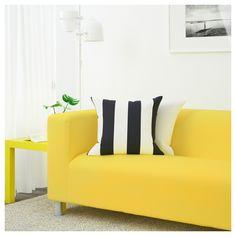 IKEA - KLIPPAN Loveseat Vissle yellow