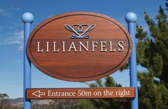 Lilianfels Resort Sign / Danthonia Designs