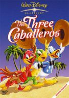 """""""The Three Caballeros"""" - Donald receives his birthday gifts, which include traditional gifts and information about Brazil (hosted by Zé Carioca) and Mexico (by Panchito, a Mexican Charro Rooster). Dvd Disney, Disney Marvel, Disney Magic, Disney Pixar, Disney Films, Disney Characters, Walt Disney Animation Studios, Make Mine Music, Classic Disney Movies"""