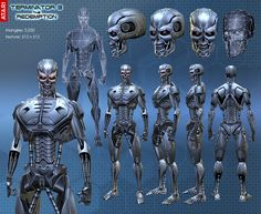 Robot Concept Art, Robot Art, Character Concept, Character Design, Best Armor, Cute Skeleton, Terminator Movies, Gato Anime, Robots Characters