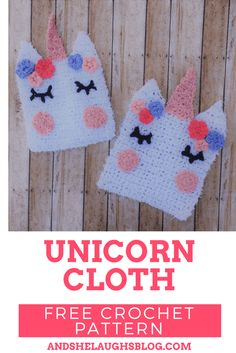 As soon as I got my hands on Red Heart Scrubby Yarn I knew I wanted to make a creative washcloth. I've seen these beautiful unicorns all over. In cakes and signs and macarons. Why not a washcloth! If you make one, let me know on social media. I'd love to see your unicorn! YouRead more
