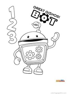 Team Umizoomi Coloring Pages 2
