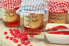 Creek Line Sponsor Blog: Making County Fair Candy Apple Jelly with Bernardin!