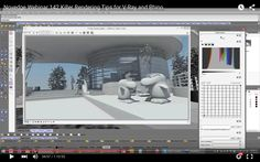 1 hour nice tips and tricks for Vray form novedge check out .. cheers