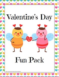 Free Valentine's Day Fun Pack - http://www.yearroundhomeschooling.com/free-valentines-day-fun-pack/