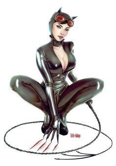 Catwoman - http://little-ginkgo.deviantart.com/