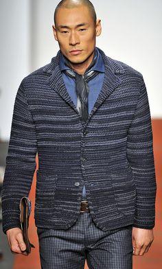 Missoni FW13/14 Milan Men's Fashion Week. Loving the jacket! #fbloggers