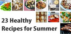Healthy summer recipies