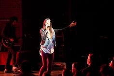 Meredith Andrews performing on the K-LOVE Christmas Tour in Indianapolis. #KLOVEChristmas #KLOVEIndy