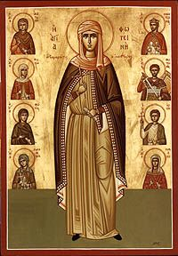 St. Photini and her family