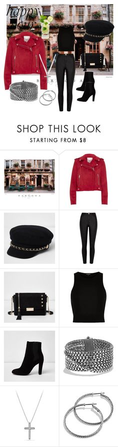 """Happy Hour"" by chauert ❤ liked on Polyvore featuring River Island and David Yurman"