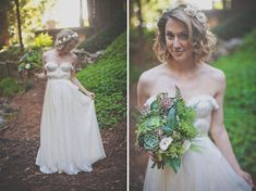 Charming Big Sur Elopement: Katherine + Brent | Green Wedding Shoes Wedding Blog…