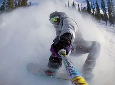 Throwback to Dru Williams riding and product testing up at Winter Park Resort fo...