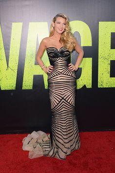 Blake Lively, la chica de moda  Me encanta este vestido! me parece espectacular!