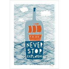 This worthy reminder: | 21 Travel Posters To Inspire Your Next Adventure