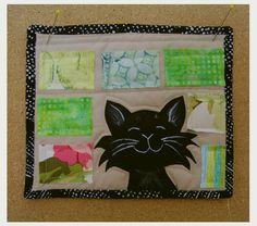 The Black Cat quilt