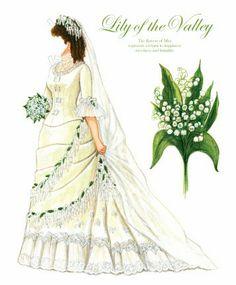 The Paper Collector: Floral Brides by Brenda Sneathen Mattox