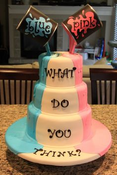 baby reveal with paint - Google Search