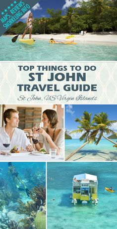 St John travel guide ...maps, reviews, travel information, beaches, snorkeling info, charters and more!