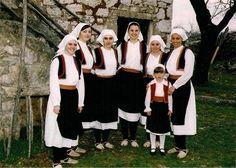 Zapadna Hercegovina / Western Herzegovina Folk Costume, Costumes, Sarajevo Bosnia, Bosnia And Herzegovina, Traditional Dresses, Croatia, Folk Art, Beautiful People, Europe
