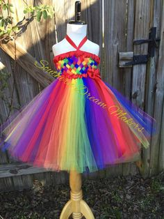 Rainbow woven top tutu dress, Rainbow Tutu, Rainbow dress, Rainbow flower girl dress, Rainbow basket weave tutu, Rainbow tutu dress by SouthernDreamMakers on Etsy https://www.etsy.com/listing/264020802/rainbow-woven-top-tutu-dress-rainbow