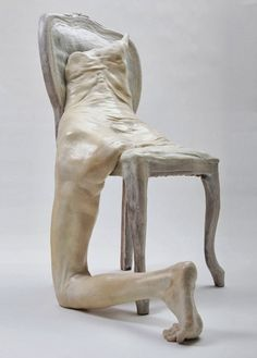 sculptures by francesco albano How cool is this- The awkward shape is just perfect and some what eerie