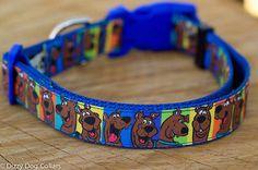 Scooby Doo Dog Collar, Great Dane, XS-XL