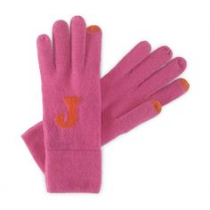 the most darling monogrammed gloves. Great gift! ON SALE!