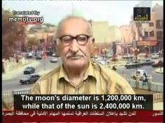 Muslim scientist says world is flat and the sun revolves around the earth because Quran says so. - YouTube