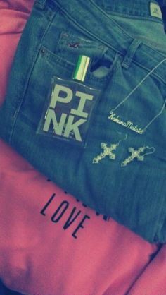 Gotta love Pink~~ Shorts and Jacket