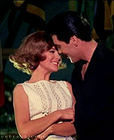 Elvis and Shelley Fabares in Girl Happy {elvisanddenise} From Google