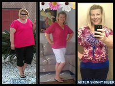 """Way to go!!! Kyndra-- This is me before and during my weight loss journey to a healthier me..I had gastric bypass 3 years ago hoping the weight loss would get me off steroids and other meds for PCOS..I lost weight got off all meds and got preggo just 7 months after having the surgery and almost 9 years of trying for another baby.. After our son was born my weight loss stalled so I stumbled upon Skinny Fiber through a friend..I thought """"yeah right """" but thankfully I tried it..Skinny Fiber ..."""
