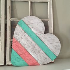 Reclaimed Wood Heart/Wood Heart Wall Decor/Heart by CleverGoose