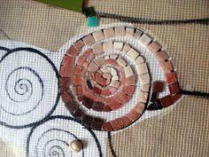 MOSAICOS MALLORCA: Mosaico Marino Pebble Mosaic, Mosaic Art, Mosaic Tiles, Mosaic Crafts, Mosaic Projects, Wall Murals, Wall Art, Arte Pop, Mosaic Patterns