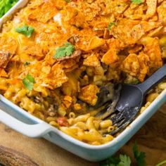 Nacho Mac & Cheese is the ultimate mac and cheese for Mexican food lovers. It's loaded with ground beef flavored with taco seasoning, 2 types of cheese (cheddar and pepper jack), jalapeno, onion, plus a can of diced tomatoes and green chilies. For a little crunch I added some crushed Doritos on top. It's …