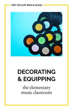 Learn the practical items you'll want to have in your elementary music classroom. Elementary Music Lessons, Yellow Brick Road, Music Classroom, Music Mix, Music Education, Literacy, Decorating, Learning, Fun