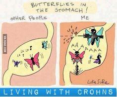 Crohn's - Yup, pretty much.