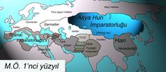Teoman son Hun throne after Yabgu Mete passed Yabgu. Mete time Hun Empire territory stretched from the Caspian Sea to the Sea of Japan. In this land of various Turkish tribes as well as other tribes lived in Altay. Mete , is the most brilliant era Hun Empire (209-174 BC).