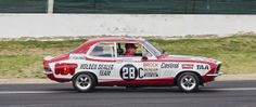 The1972 winning GTR XU-1 Torana driven by the late Peter Brock on display at the 2012 Bathurst 1000, the 50th running of the great race
