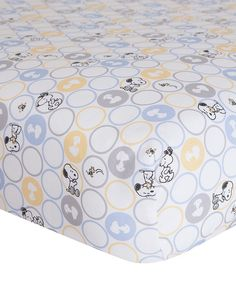 Look at this My Little Snoopy Crib Sheet on #zulily today!